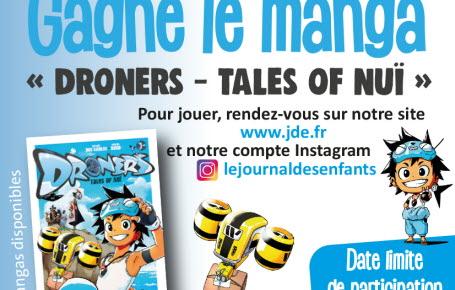 "Gagne le manga ""Droners - Tales of Nuï"""
