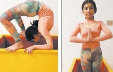 Yoga : le record de Samridhi