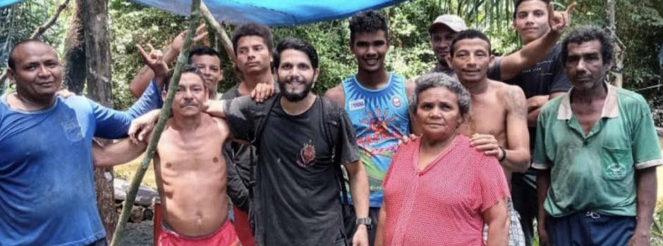 Sauvé après 36 jours dans la jungle