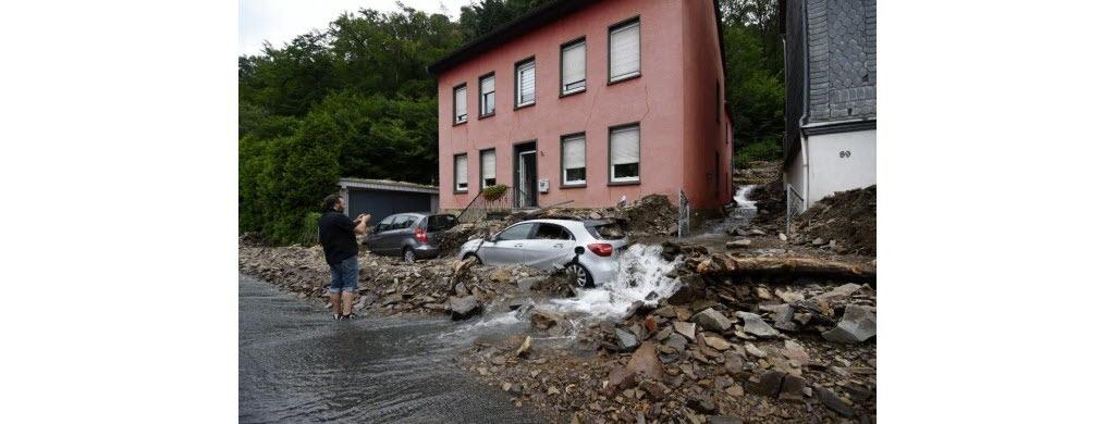 Dans la ville allemande de Hagen. (Photo AFP)