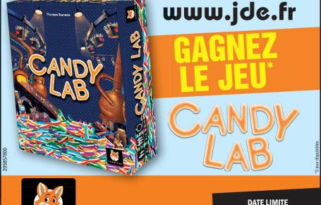 """Les gagnants pour le jeu """"Candy Lab"""""""