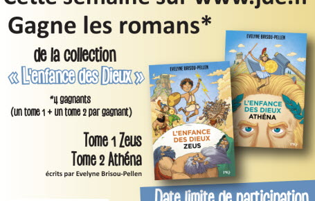 """Gagne les tomes 1 et 2  """"L'enfance des Dieux"""""""
