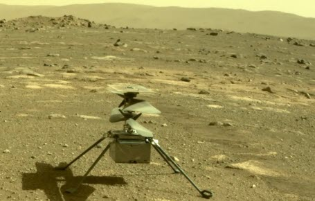 L'hélicoptère Ingenuity se prépare à voler sur Mars