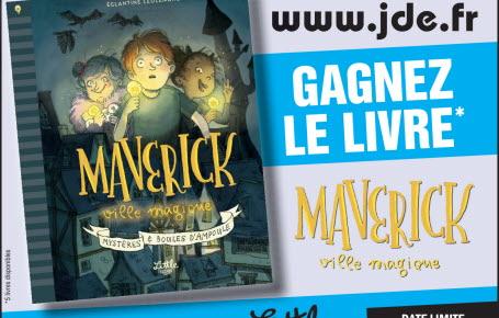 """Les gagnants pour le livre """"Maverick, ville magique"""""""
