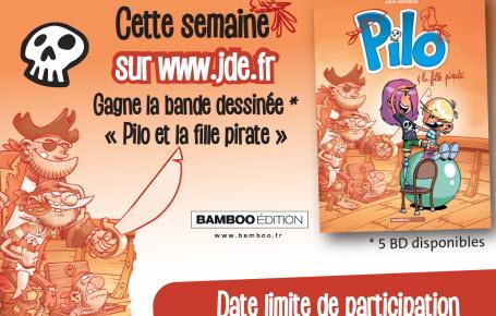 """Les gagnants du jeu """"Pilo et la fille pirate"""""""