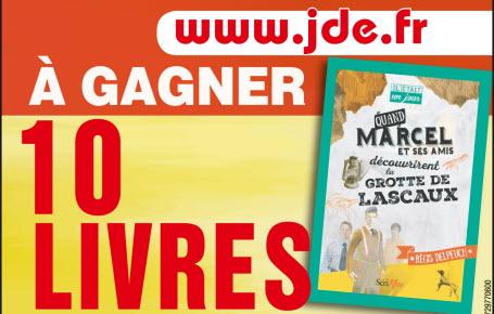 """Gagnez des livres """"Quand Marcel et ses amis découvrirent la grotte de Lascaux"""""""