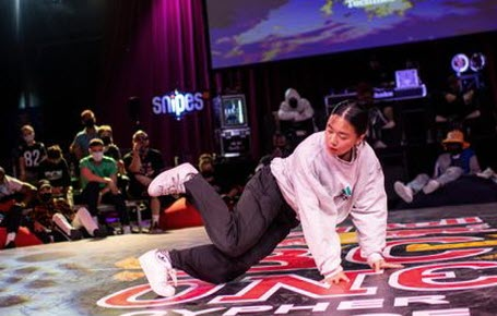 Breakdance : Pac Pac & Fanny au top