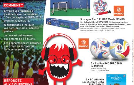 """Qui a gagné le concours """"Euro 2016"""" et """"Agenda scolaire 2016"""" ?"""
