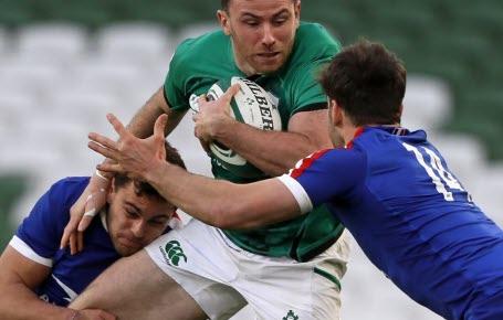 Rugby : les Bleus en tête