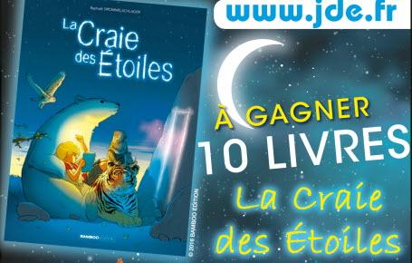 """Gagnez des livres """"La Craie des Etoiles"""""""