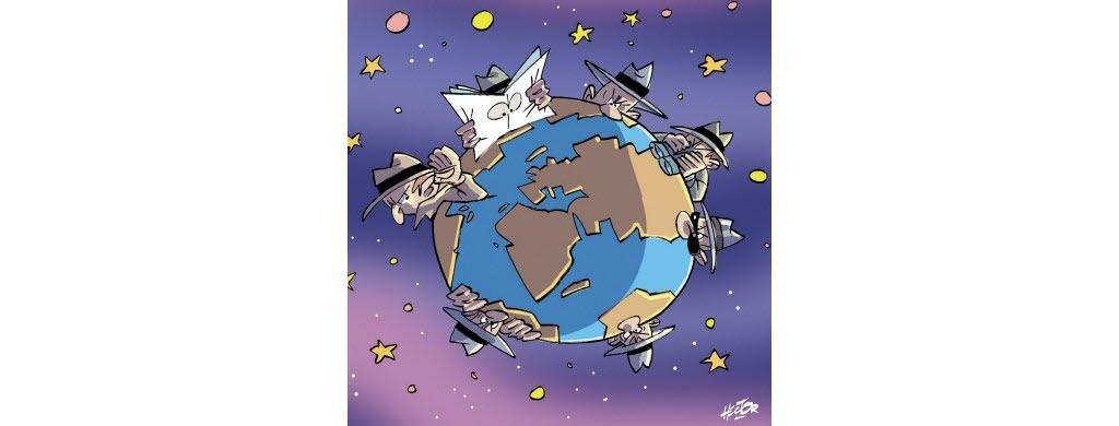 Est-ce que des pays s'espionnent?