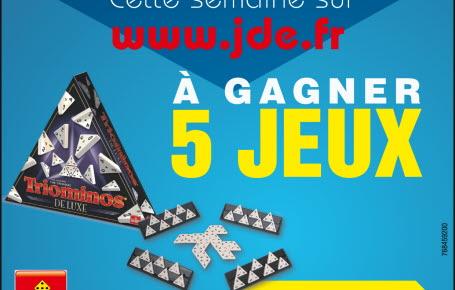 """Gagnez des jeux """"Triominos"""""""