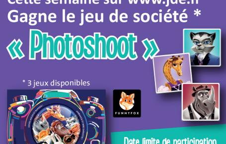 """Les gagnants du jeu """"Photoshoot"""""""