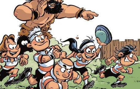 Au rugby, pas besoin d'être un super costaud