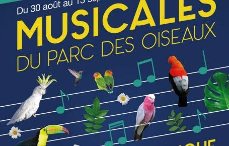 Concerts : les Musicales du Parc