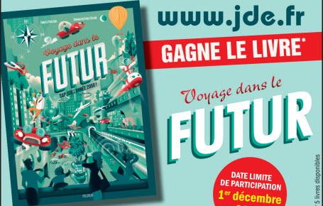 """Gagne le livre """"Voyage dans le futur"""""""
