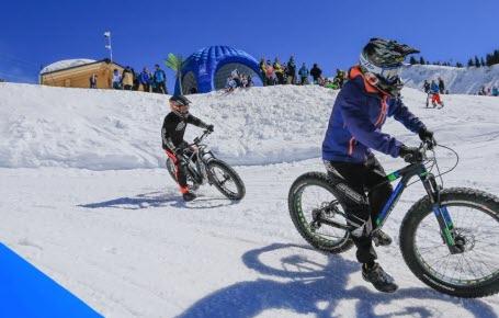 De drôles de sports d'hiver !