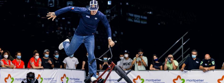 Matthias Dandois sacré roi du BMX Flat
