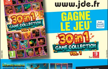 "Les gagnants du jeu ""30 in 1 Game Collection vol. 1 """
