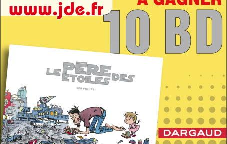 """Gagnez des BD """"Le Père des Etoiles"""""""