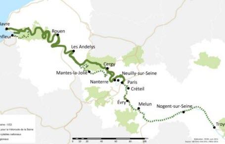 Ca buzzz : Paris-Deauville à vélo