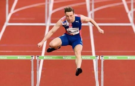 Athlétisme : Warholm décolle