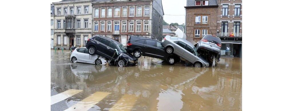 Dans la ville belge de Verviers. (Photo AFP)