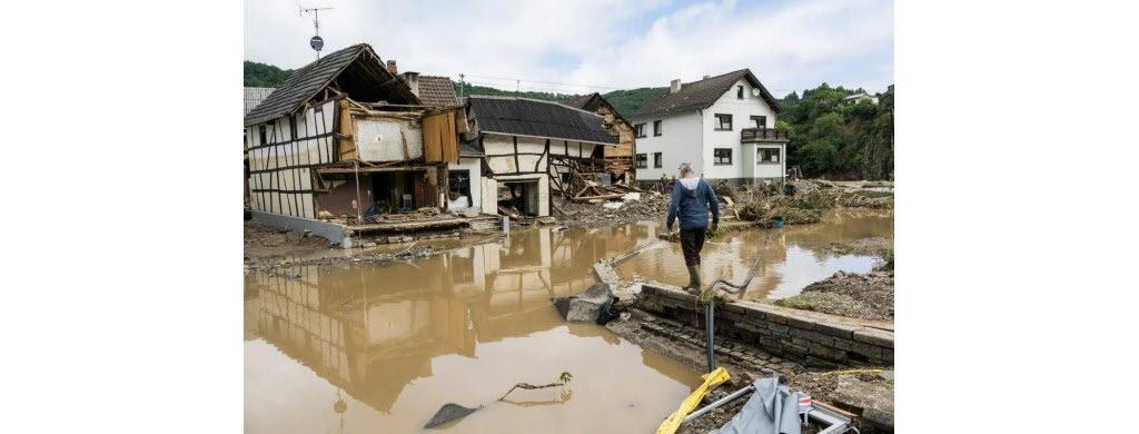 Dans la ville allemande de Schuld. (Photo AFP)