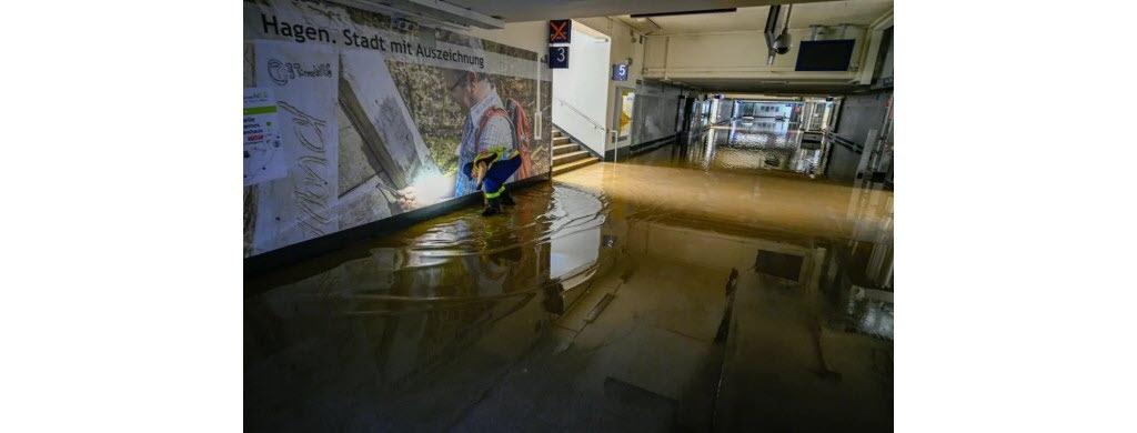 Dans la ville de Hagen, en Allemagne. (Photo AFP)
