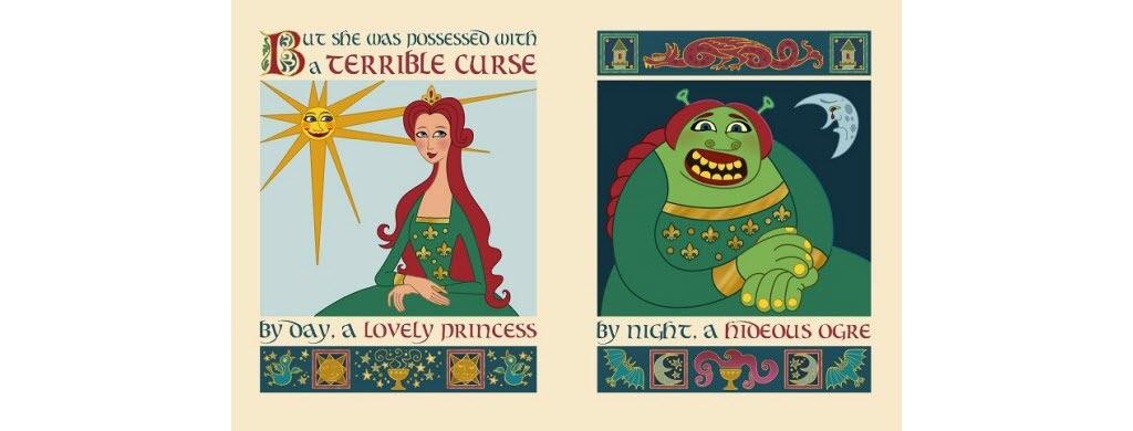 """Dans le premier film d'animation """"Shrek"""", sorti en 2001 ! Il s'agit de l'endroit où la princesse et ogresse Fiona est retenue prisonnière."""