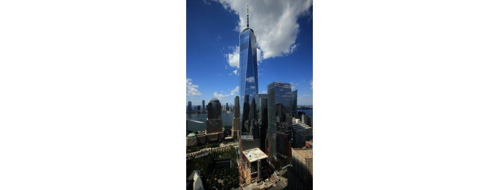 Désormais, la tour One World Trade Center s'élève là où ont eu lieu les attentats.